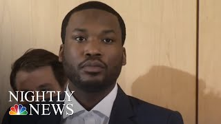 Rapper Meek Mill Speaks Out About Criminal Justice Reform | NBC Nightly News