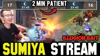 Patient from SUMIYA & Illusion Bait | Sumiya Invoker Stream Moment #258