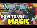 How To Use MAGIC IN PIXARK - Magic Starter Guide - Wands! Crucible! Alchemy Stove! Inscription Book!