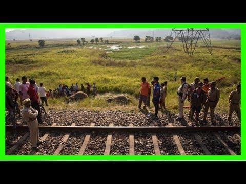 India passenger train hits, kills 2 endangered asian elephants