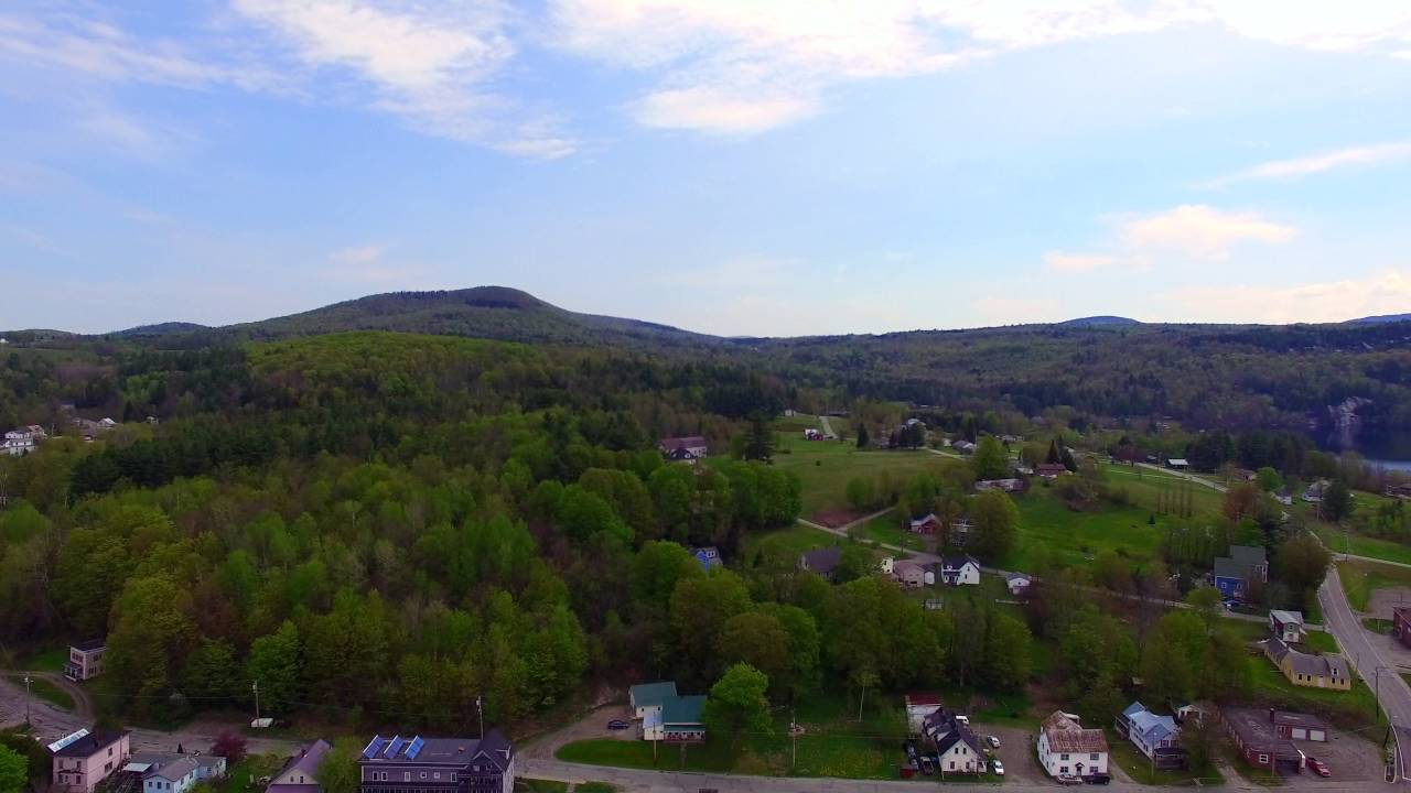 Barton VT from Above - North East Kingdom - 4K HD - Green Mountain ...