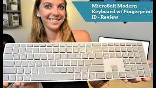 Microsoft Modern Keyboard with Fingerprint ID - Review