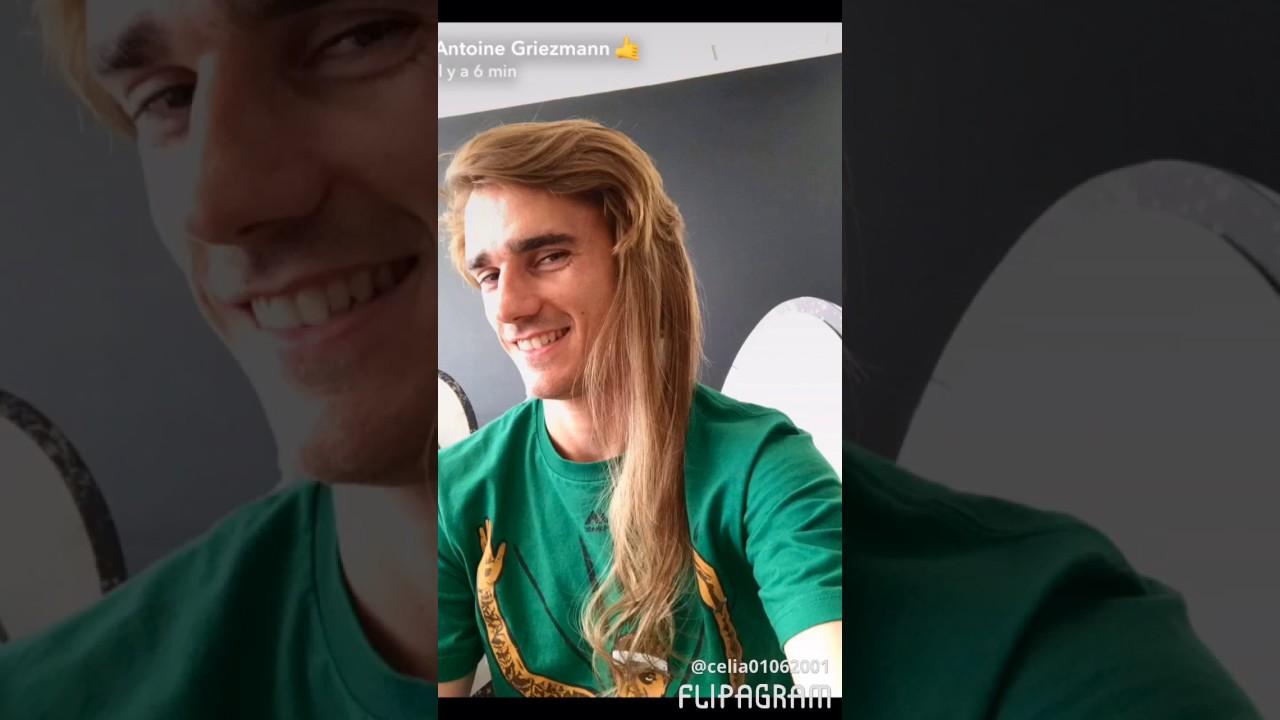 Antoine griezmann  long  hair YouTube