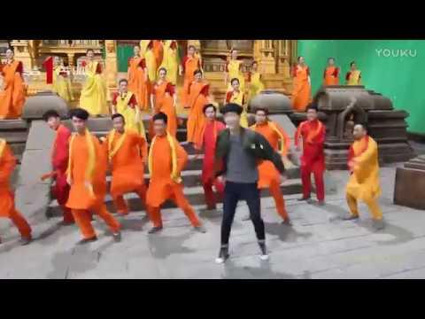 170129 EXO Lay Zhang Yixing @ 《功夫瑜伽》 Kungfu Yoga diyimovie bts
