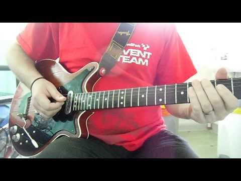 Queen - 'Get Down, Make Love' - guitar tutorial/lesson