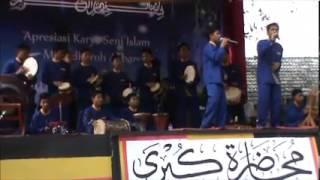 An Nabi Versi Marawis Reggae di Pon-Pes Al-Muhlisin