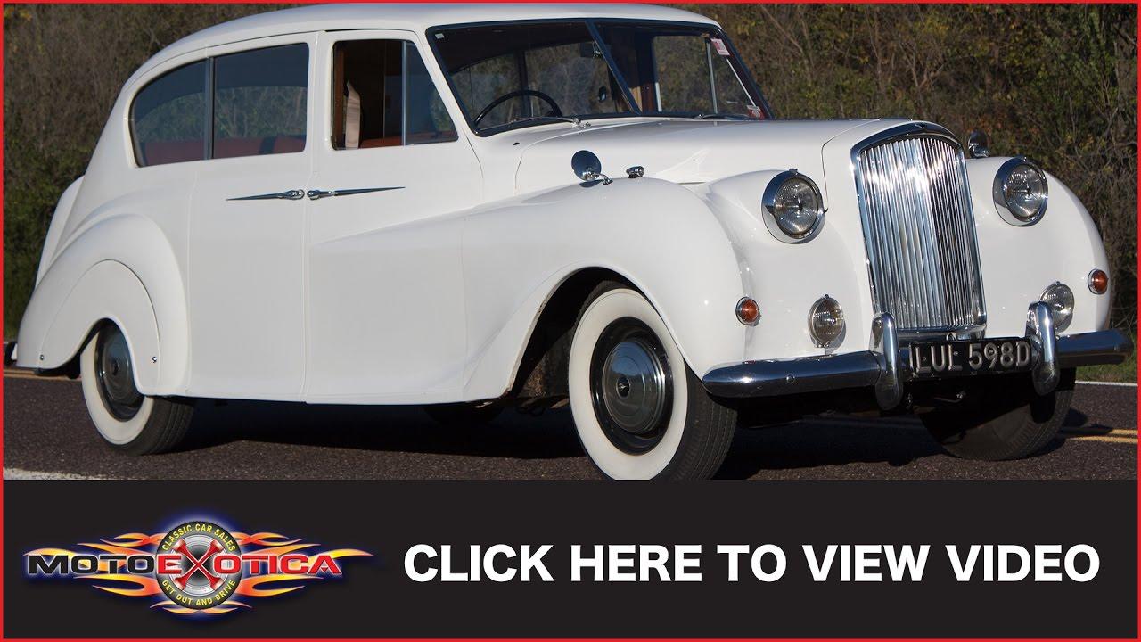 1966 austin vanden plas princess limousine sold youtube rh youtube com Princess R Vanden Plas Princess 1968