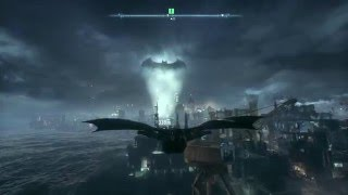 New Suit and Bat Wing-BATMAN : ARKHAM KNIGHT Part 2