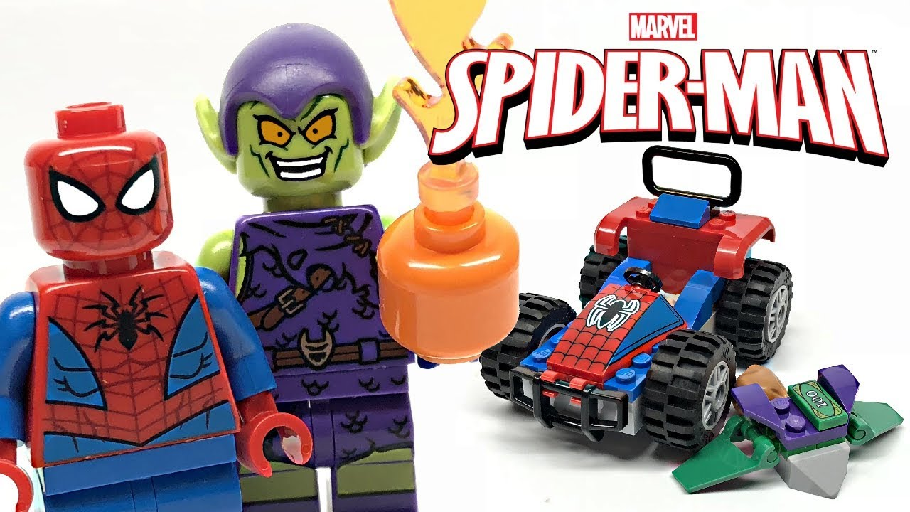 LEGO Spider-Man Car Chase review! 2019 set 76133! - YouTube