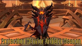 Protection Warrior Artifact Weapon: Scale of the Earth-Warder – Legion 7.3.5