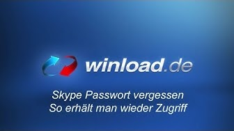 Skype Passwort vergessen  - Zugriff auf das eigene Konto | Winload.de