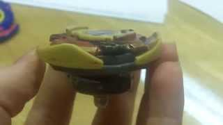 Beyblade 2015 New Year Special {how to make Dranzer Titan 2005}