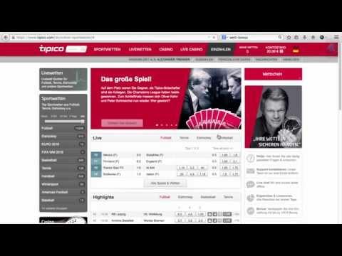 Tipico Bonus für Neukunden - Ersteinzahlungsbonus von YouTube · HD · Dauer:  1 Minuten 59 Sekunden  · 2000+ Aufrufe · hochgeladen am 28/04/2015 · hochgeladen von wett-bonus.com