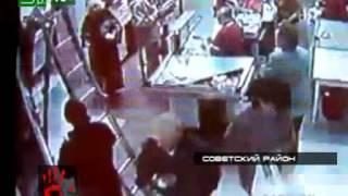Уборщица в супермаркете едва не стала жертвой