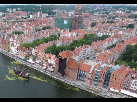 Tour Gdansk by Drone - Vlog 33 - Outback Polaks
