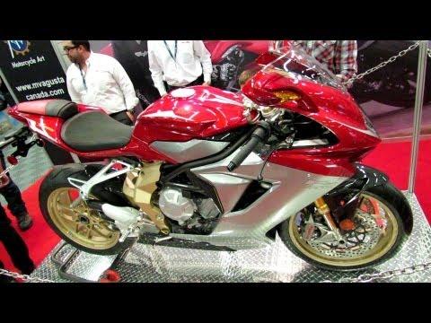 2013 MV Agusta F3 Serie Oro - Walkaround - 2013 Montreal Motorcycle Show