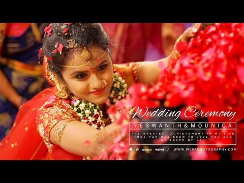 A Traditional Telugu Wedding Highlights Of Mounica And Yeswanth