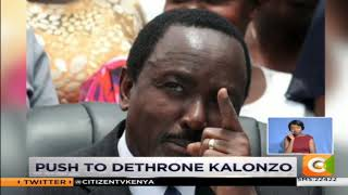 Push to dethrone Kalonzo