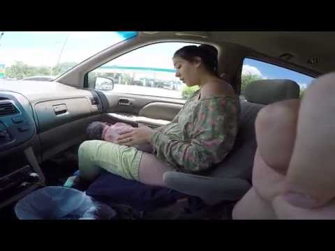 Thumbnail: Woman gives birth to 10lb baby in car