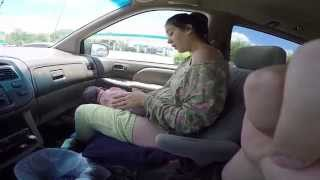 Watch: A Pregnant Woman Giving Birth Inside A Car