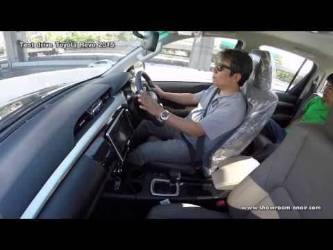 Test drive toyota revo