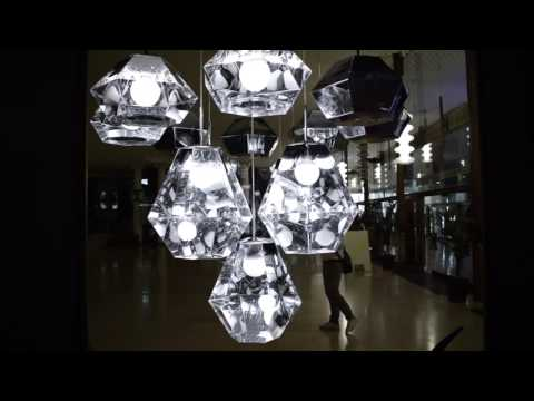 Tom Dixon Multiplex: Cut Pendant Lighting Chrome