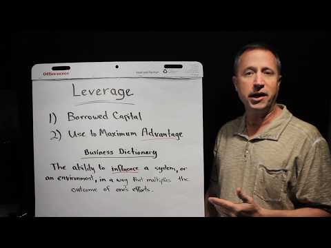 Using Leverage