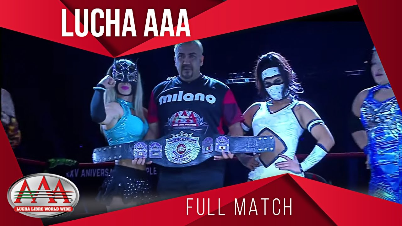 LADY SHANI Vs AYAKO Vs ROSEMARY Vs SEXY STAR | TRIPLEMANÍA XXV