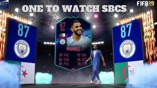 FIFA 19 - ONE TO WATCH SBCS CAN WE GET RONALDO!!  (WL 18-12 )