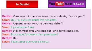 Dialogue en français Niveau A1 22 french dialogue le dentist