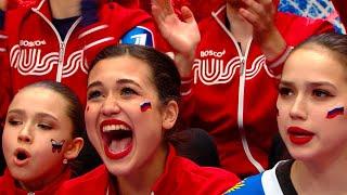 Поклонники фигурного катания делятся впечатлениями от увиденного на Кубке Первого канала