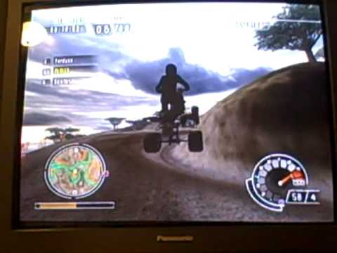 ATV Offroad Fury 4 gameplay- Africa P2P (2/2)