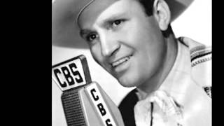 Gene Autry & Jimmy Long - Gosh! I Miss You All the Time