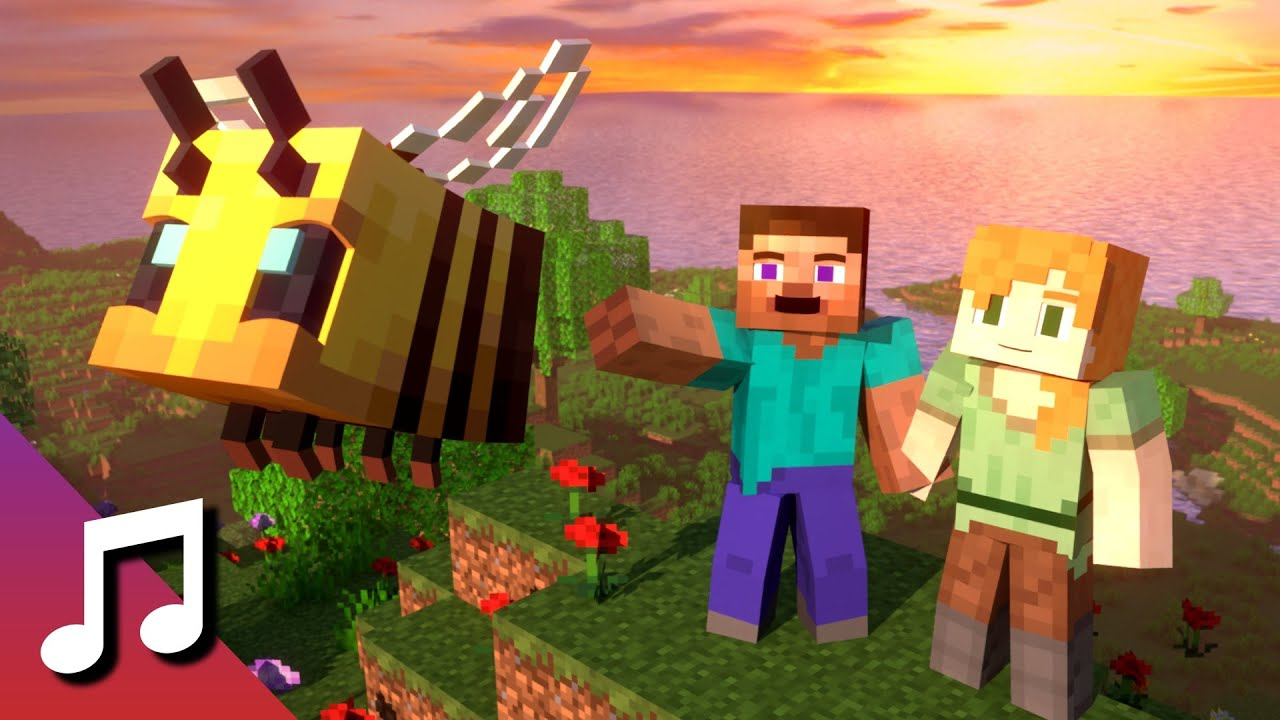 ♪ TheFatRat - Fly Away feat. Anjulie (Minecraft Animation) [Music Video]