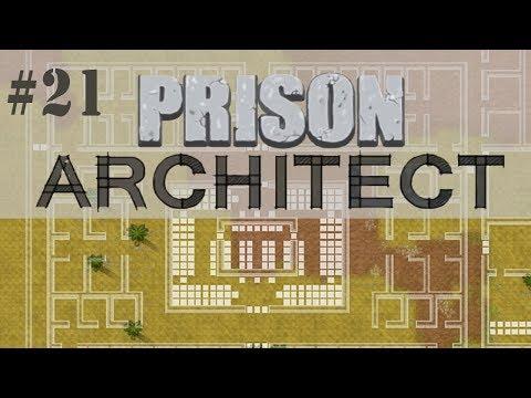 Prison Architect Gameplay #21 | Pavilhão de Segurança Máxima
