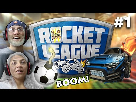 Let's Play Rocket League FOREVER!  FGTEEV MOM Vs. DAD Gameplay (#1 Match) BEST GAME EVER!