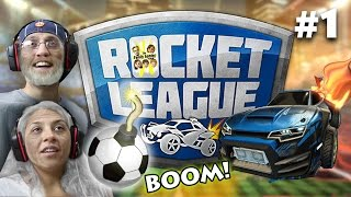 let s play rocket league forever fgteev mom vs dad gameplay 1 match best game ever