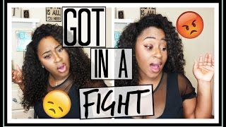 Story time I GOT INTO A FIGHT | Trinity Jae