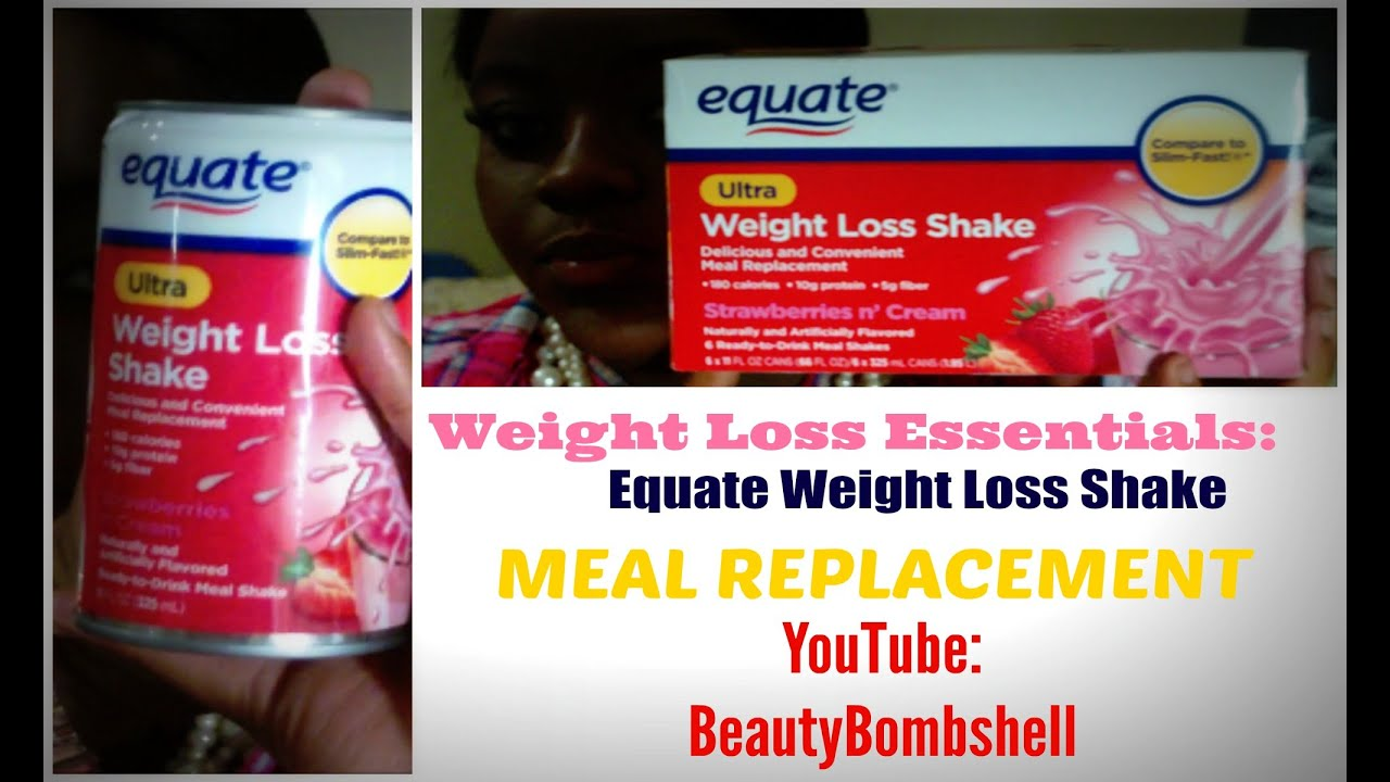 weight loss with amazing meal powder