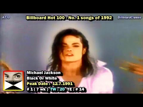 Billboard Hot 100 #1 Songs of 1992 1080p HD