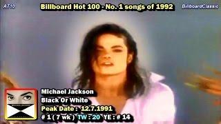 Billboard Hot 100 - No. 1 Songs of 1992 [1080p HD]