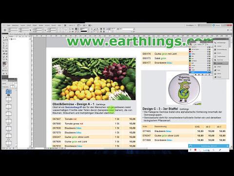 Adobe Indesign XML Database Publishing aus Excel