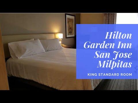 Hilton Garden Inn San Jose Milpitas | King Room 112 | Hotel Room Tour