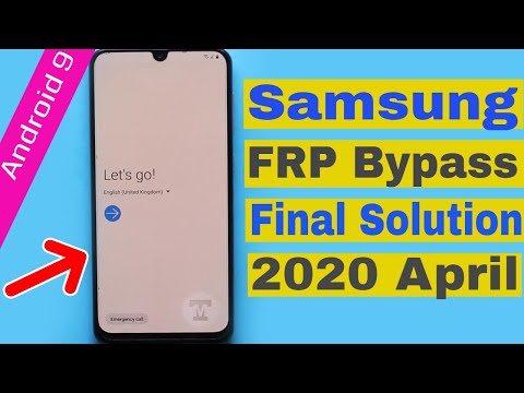 All Samsung 2020 April Frp Bypass Final Solution Android 9.0 Pie