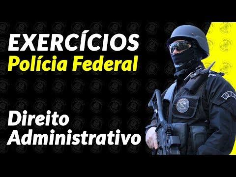 Polícia Federal 2018 - Direito Administrativo - Exercícios - Leonardo Torres -  1
