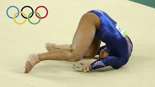 "GYMNASTICS FALLS: ""The Olympics"" Edition"