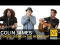 watch he video of Colin James performs 'Riding In The Moonlight' NP Music in studio