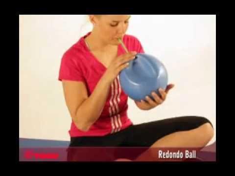 faltbarer gymnastikball togu redondo ball youtube. Black Bedroom Furniture Sets. Home Design Ideas