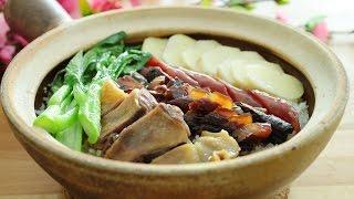 CNY Waxed Meat Claypot Rice Lap Mei Fun - 腊味饭