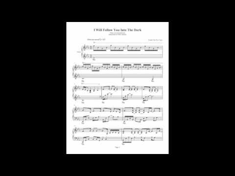 Guitar guitar tabs i will follow you into the dark : I Will Follow You Into The Dark - Death Cab For Cutie - Piano ...